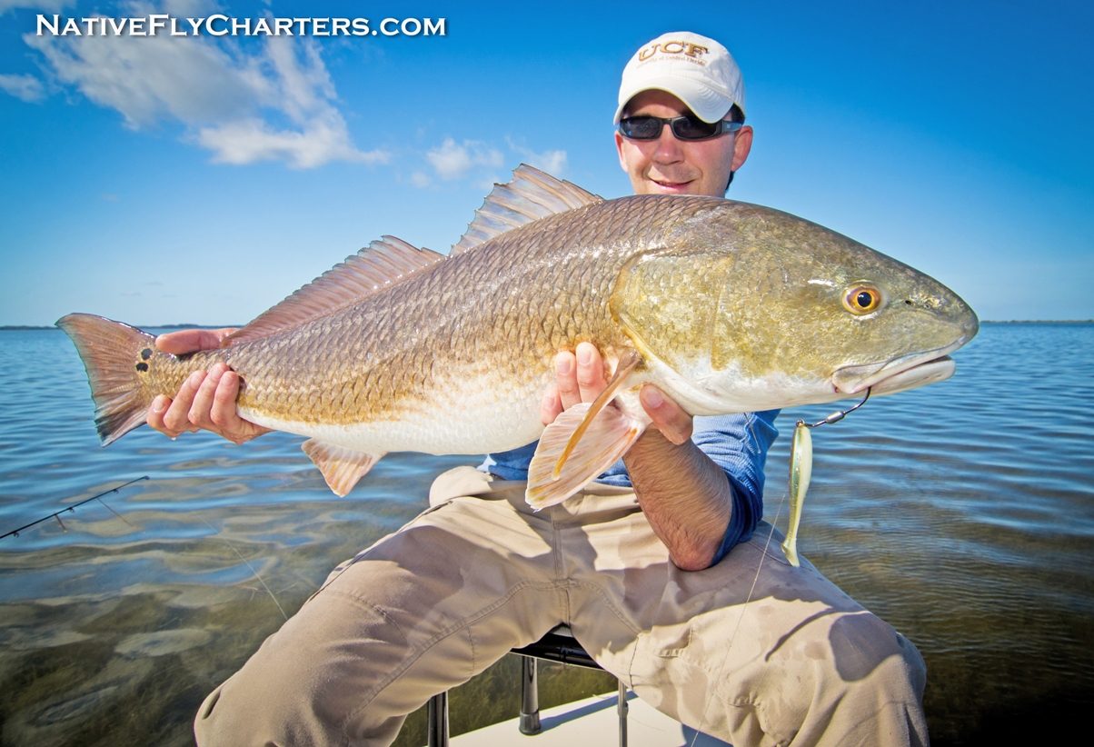 Cocoa Beach redfish