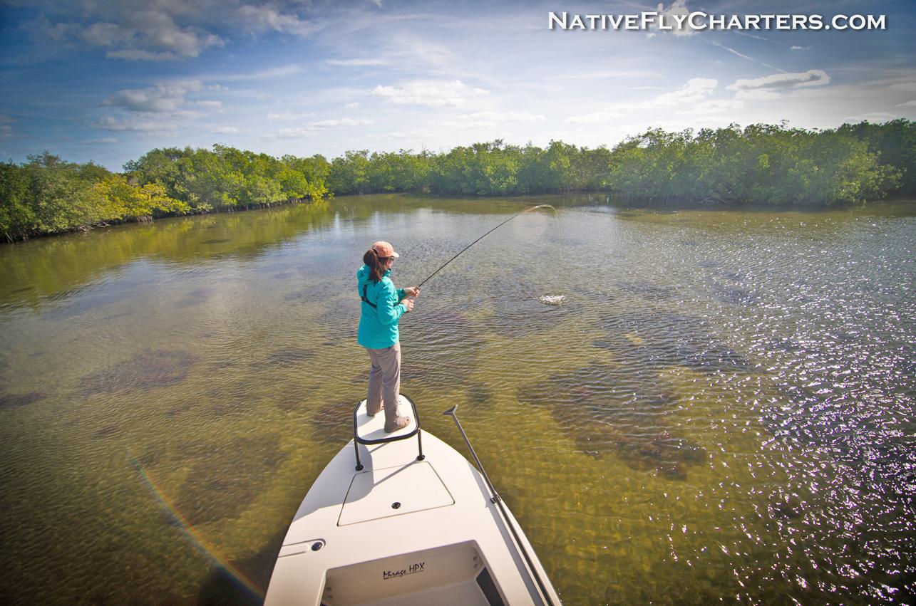 Mosquito Lagoon fly fishing