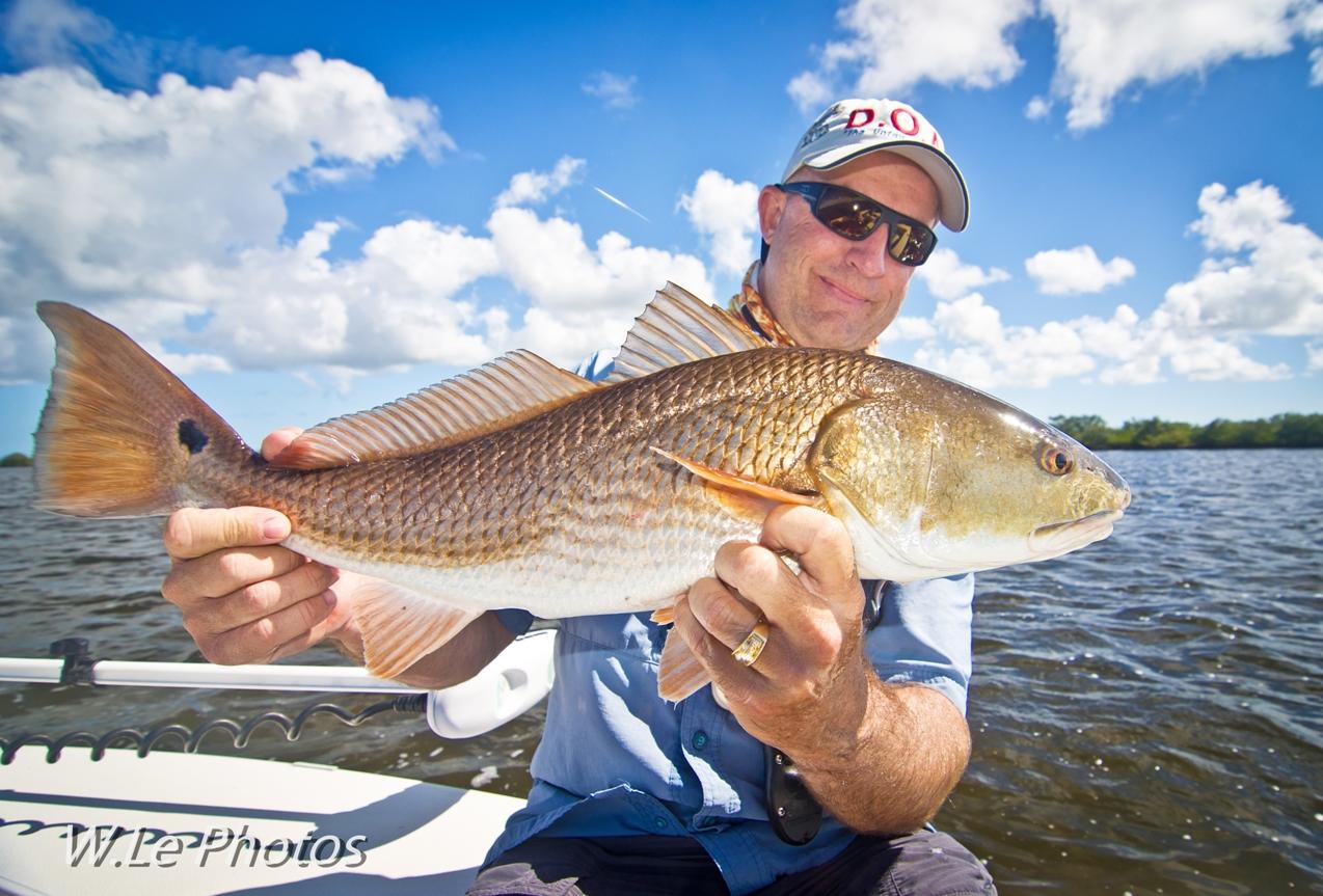 Capt. Chris Meyers redfish